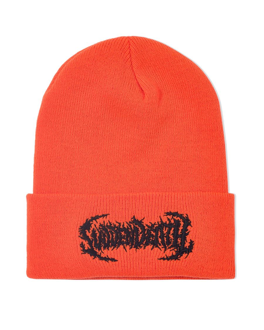 SVDDEN DEATH Beanie - Orange