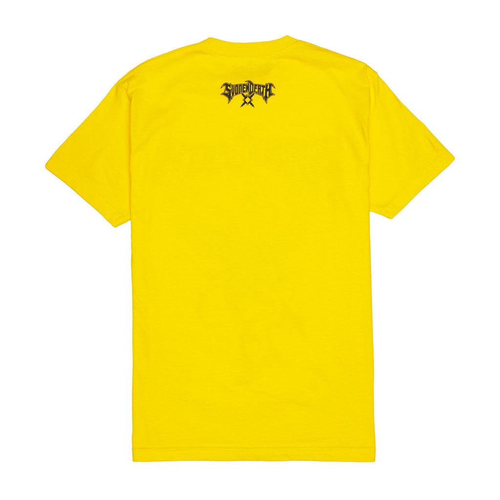 "SVDDEN DEATH ""Archdemon"" T-Shirt in Yellow."