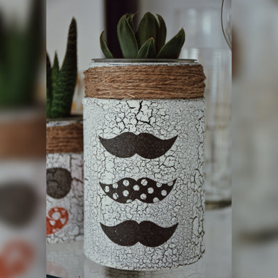 Moustache Season Jar