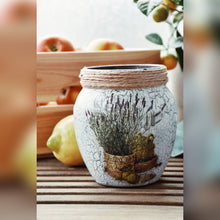 Load image into Gallery viewer, Provence Inspired Lavender Vase