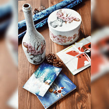 Load image into Gallery viewer, Winter Collection, Bottle with Festive Decoration