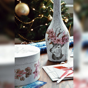 Winter Collection, Bottle with Festive Decoration