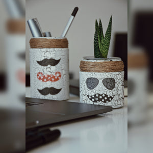 Not Basic Stache Jar