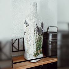 Load image into Gallery viewer, Provence Inspired Upcycled Olive Oil Bottle