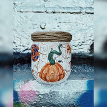Load image into Gallery viewer, Halloween Special, Upcycled Glass Jar