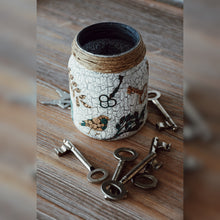 Load image into Gallery viewer, The Quest for 7 Keys Collection, Recycled Jar