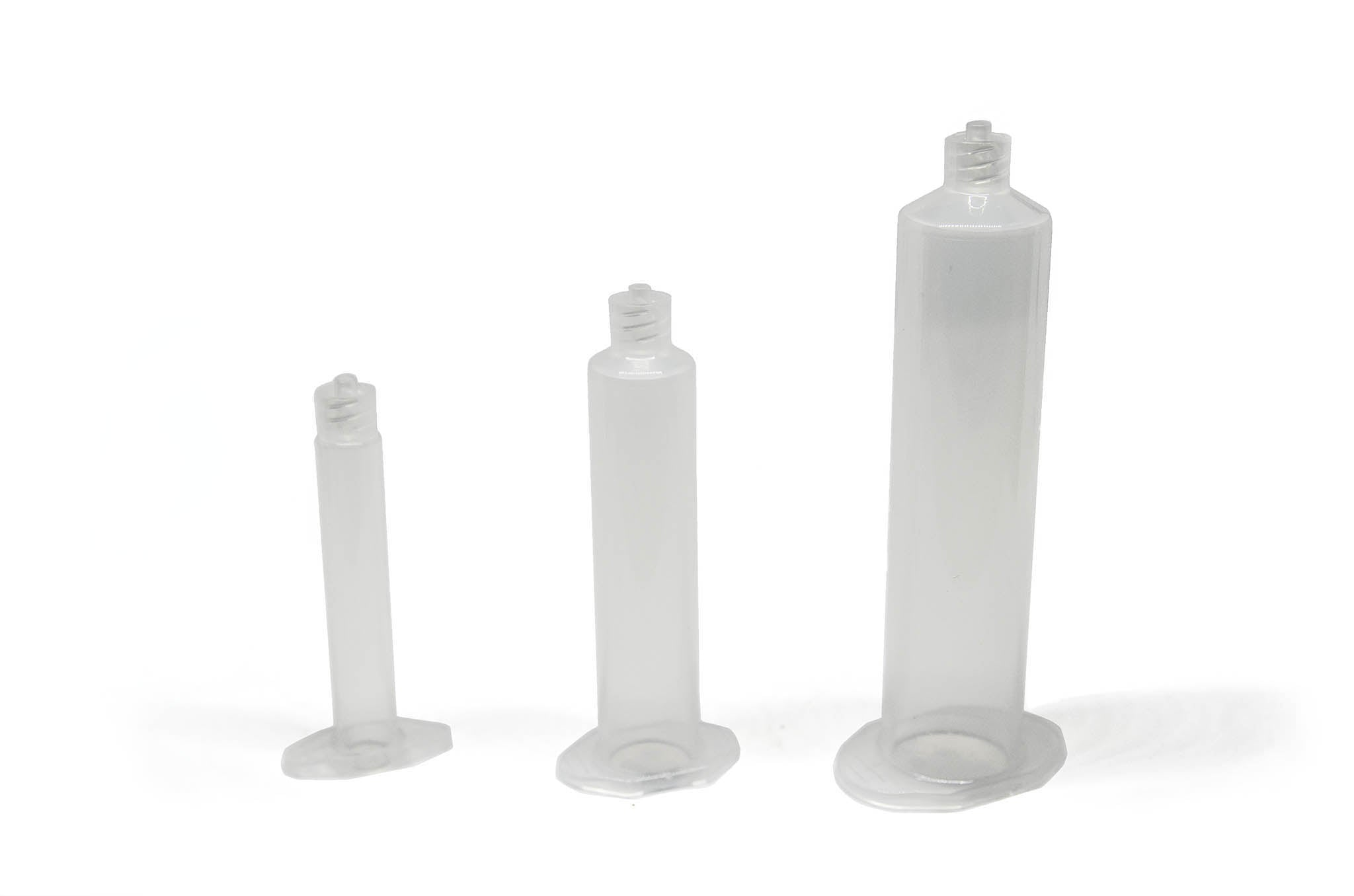 different sizes syringe barrels