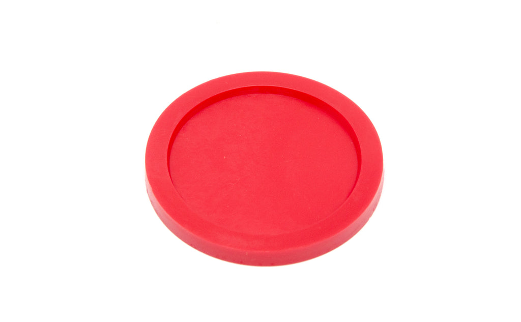 Red 10oz (310ml) cartridge flange cap seal LDPE front