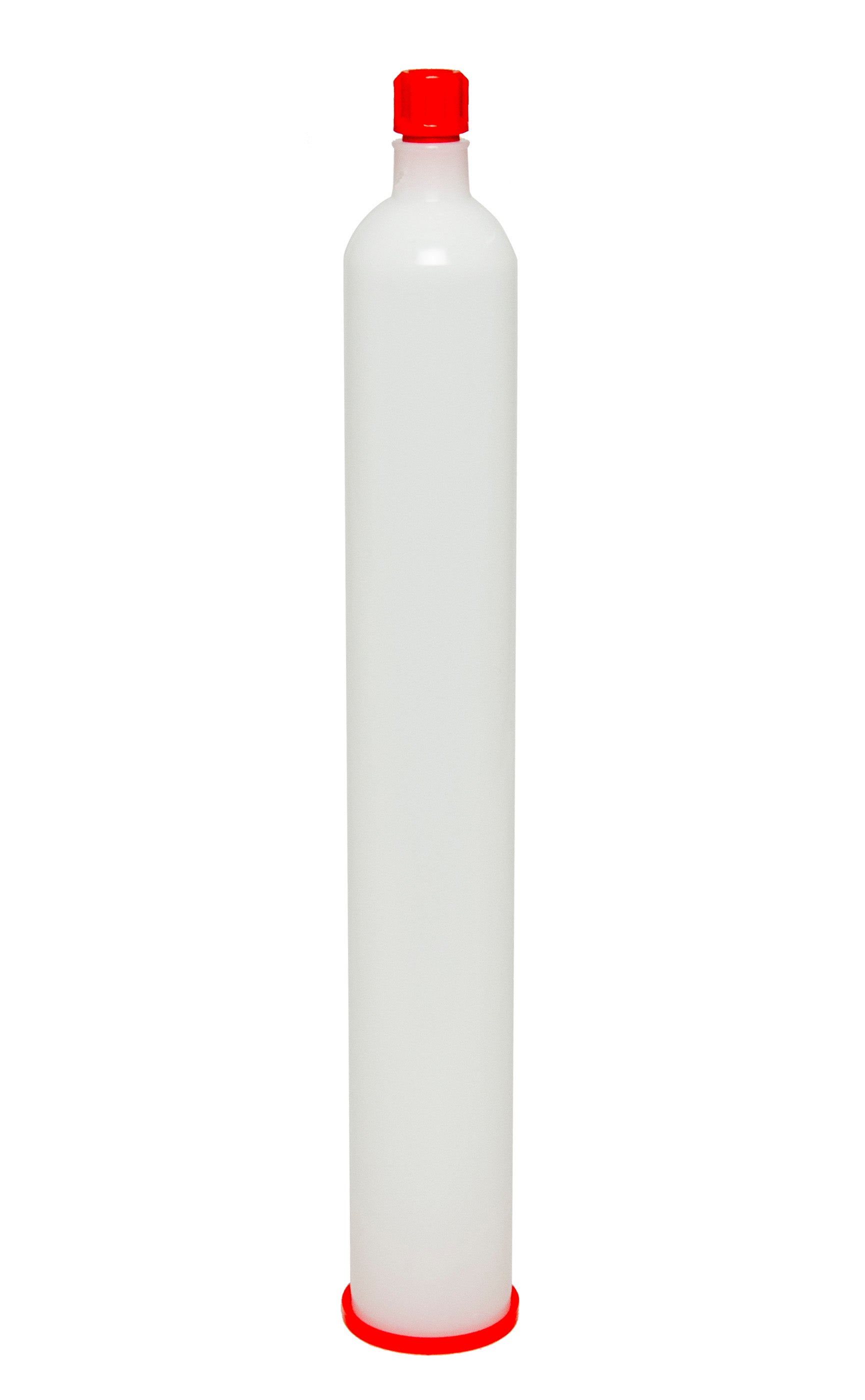 12oz size natural cartridge HDPE vertical