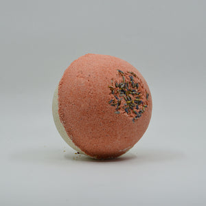 Luxurious Tea and Rose Clay Bath Bomb
