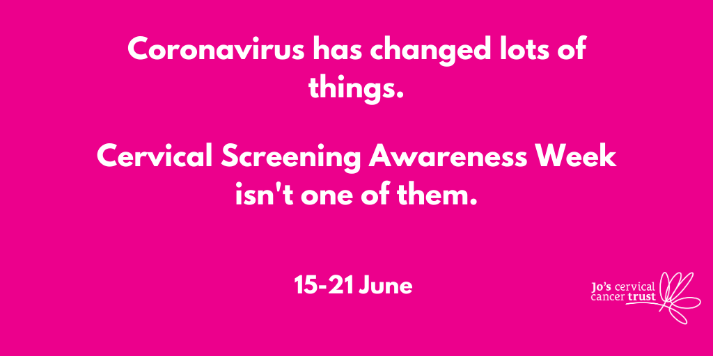 Cervical Screening Awareness Week 2020