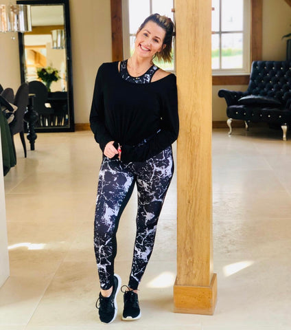 Havetolove Active: Housewives of Cheshire Leanne wears Havetolove Active