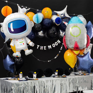 Outer Space Astronaut Rocket Ship Party Decorations