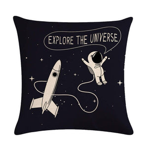 Astronaut Solar System Exploration Pillowcases