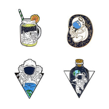 Load image into Gallery viewer, Astronaut Enamel Pin