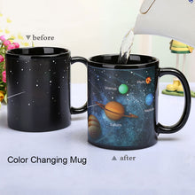 Load image into Gallery viewer, Stars to Solar System Heat Changing Mug