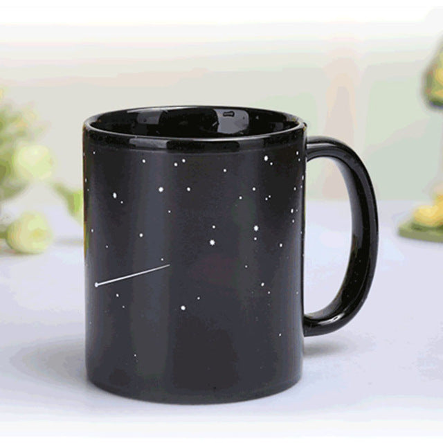 Stars to Solar System Heat Changing Mug