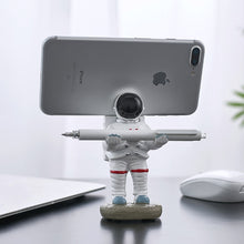Load image into Gallery viewer, Astronaut Pen Holder and Phone Stand