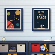 Load image into Gallery viewer, Space Poster Wall Art