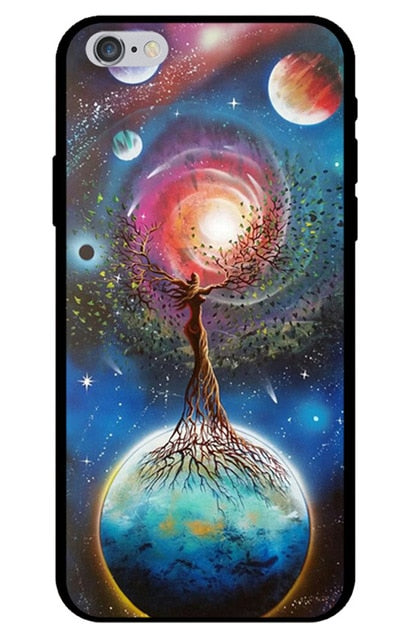 Space Tree iPhone Case