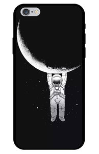 Just Hanging Around Astronaut iPhone Case