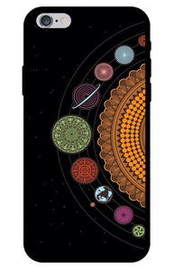 Planet and Star iPhone Case