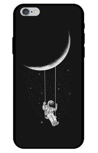 Swinging on the Moon Astronaut iPhone Case