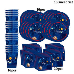 Outer Space Galaxy Party Decorations