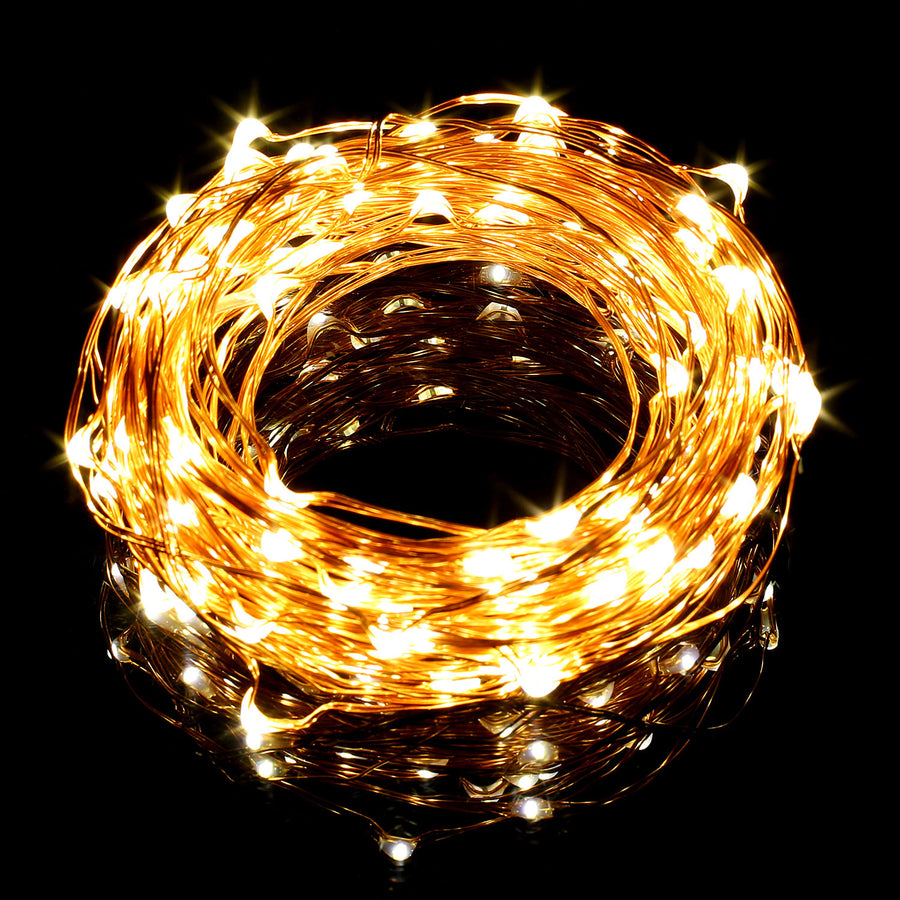 33ft Copper Wire String Lights