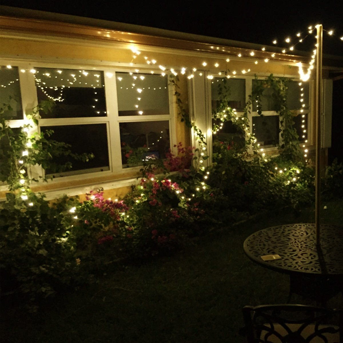 65ft20m 200 leds copper wire lights