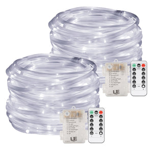 33ft Battery Powered 120 LED Rope Lights