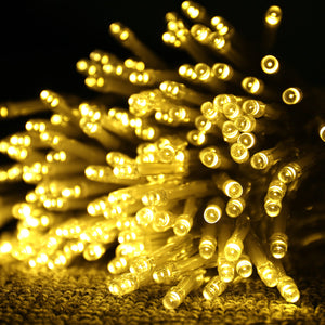 9.84ft x 9.84ft Warm White LED Curtain String Fairy Lights