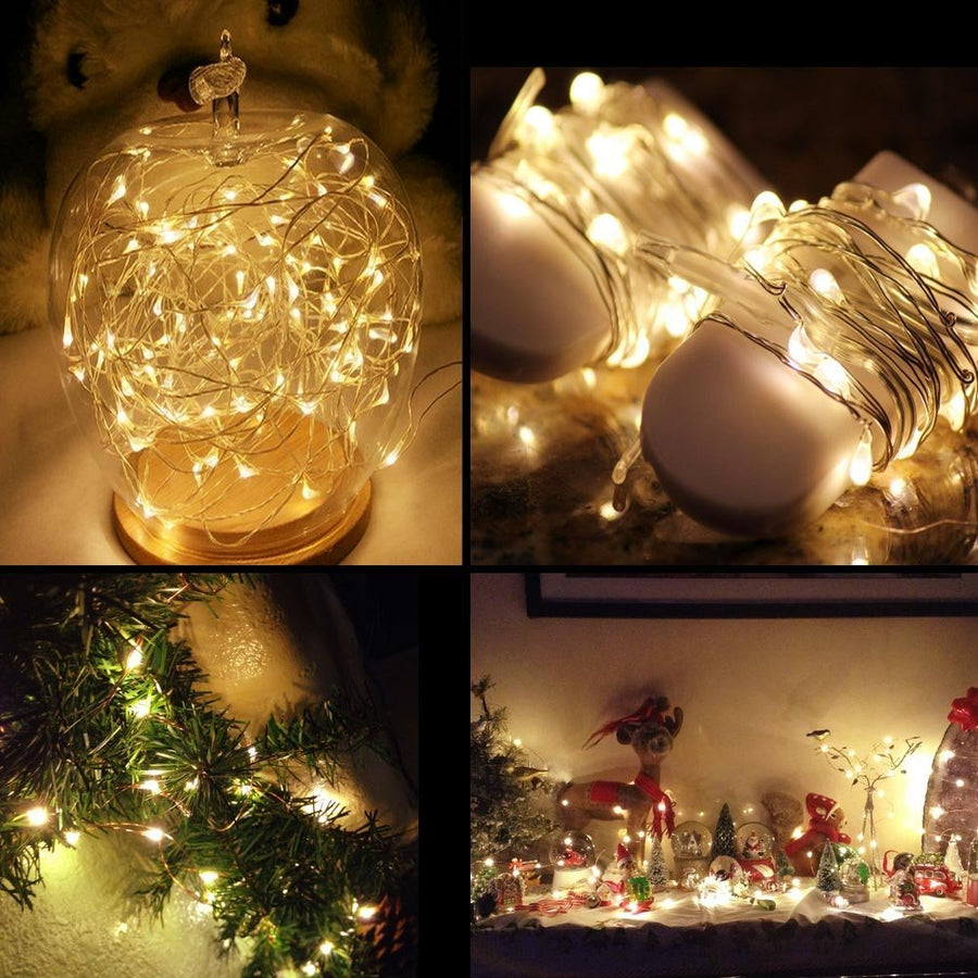 3.3ft/1m Micro Copper Wire String Lights,