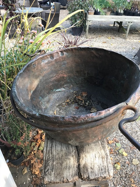 Italian Copper Trough (very large)