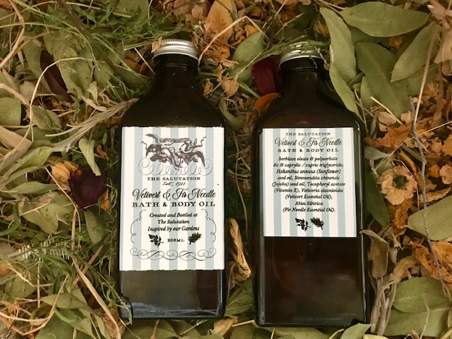Body & Bath Oil - Vetivert & Fir Needle