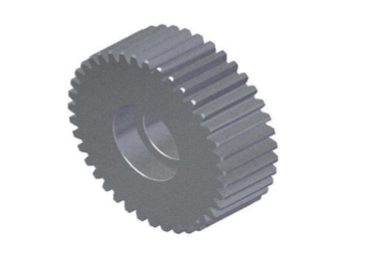 SMALL METALLIC PLASTIC GEAR