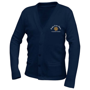 Park City Prep Navy Cardigan