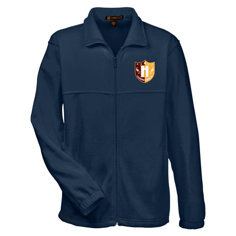 Capital Prep Harlem Navy Full-Zip Fleece