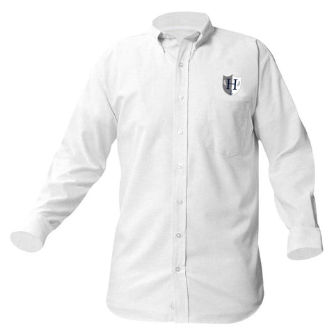 Capital Prep Harbor Long Sleeve Boys Oxford