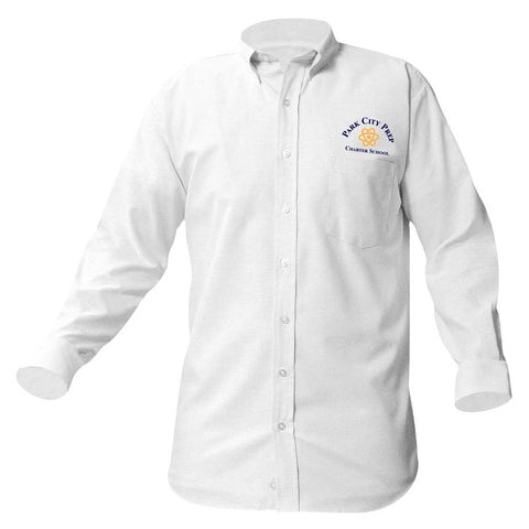 Park City Prep Long Sleeve White Oxford