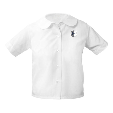 Capital Prep Harbor Short Sleeve Girls Blouse (Grades K-5)