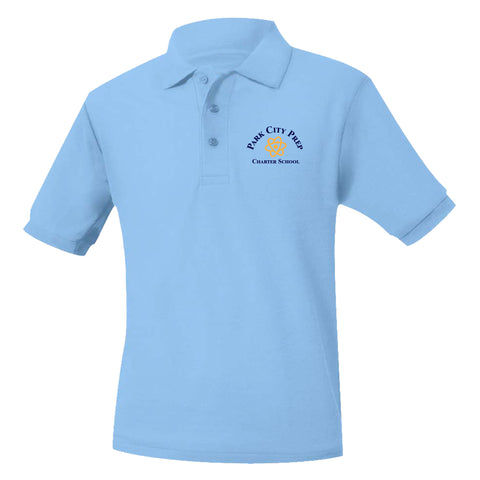 Park City Prep Light Blue Polo