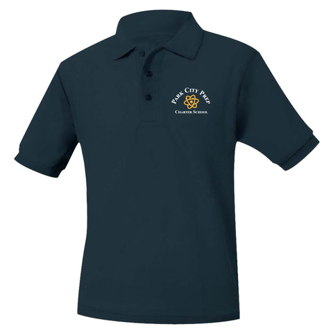 Park City Prep Navy Polo
