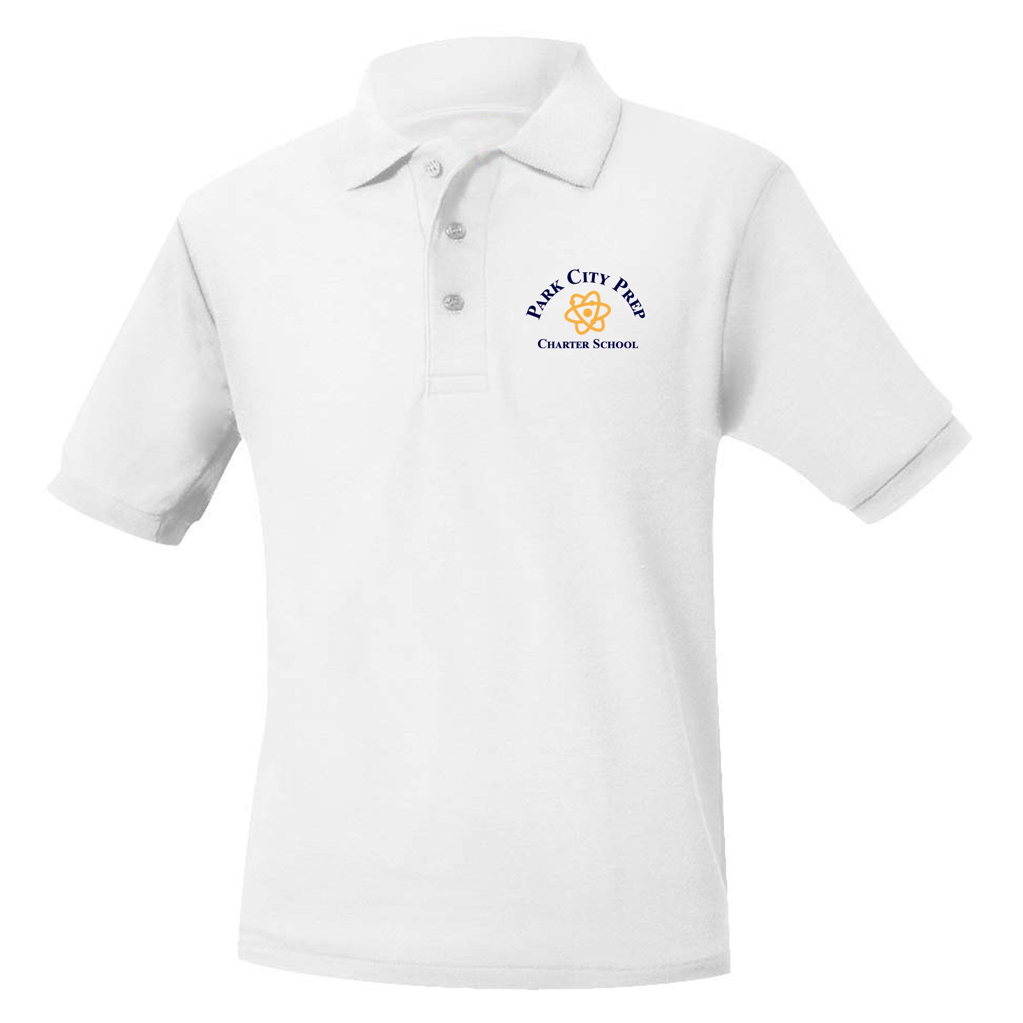 Park City Prep White Polo