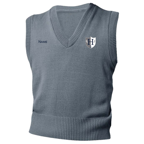 Capital Prep Harbor Grey Sweater Vest (Grades K-5)