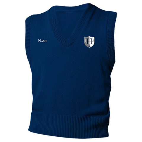 Capital Prep Harbor Navy Sweater Vest (Grades 6-8)