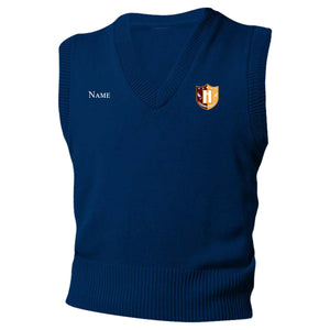 Capital Prep Harlem Navy Sweater Vest (Grades 5-8)