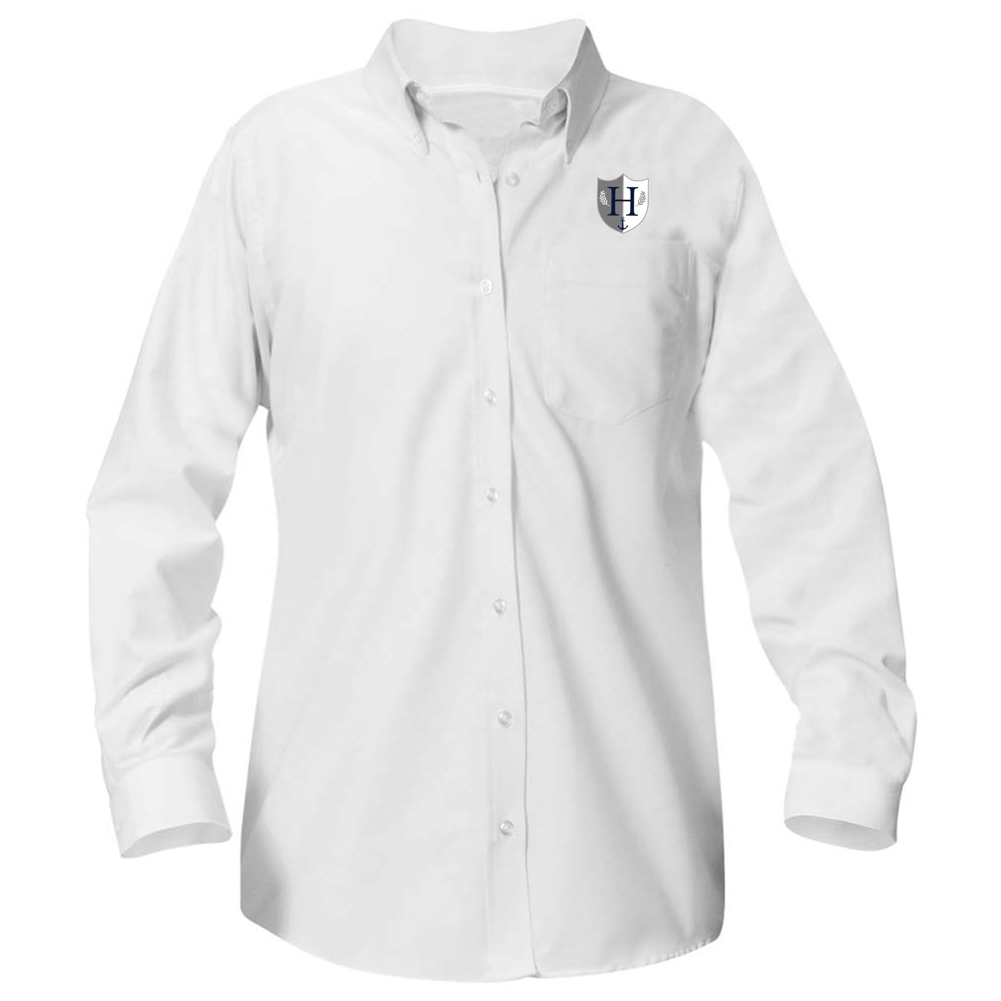 Capital Prep Harbor Long Sleeve Girls Oxford (Grades 6-12)