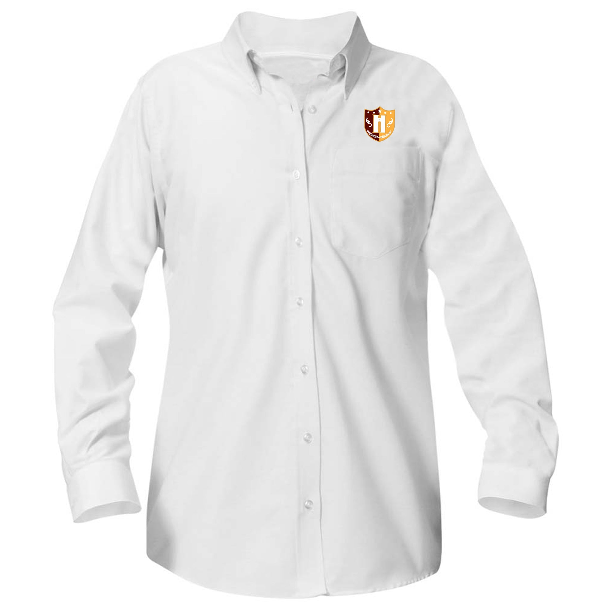 Capital Prep Harlem Long Sleeve Girls Oxford