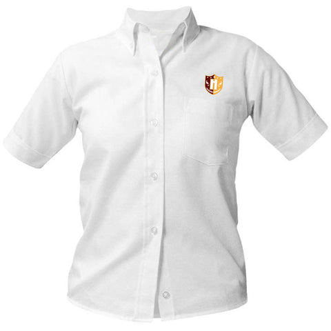 Capital Prep Harlem Short Sleeve Girls Oxford